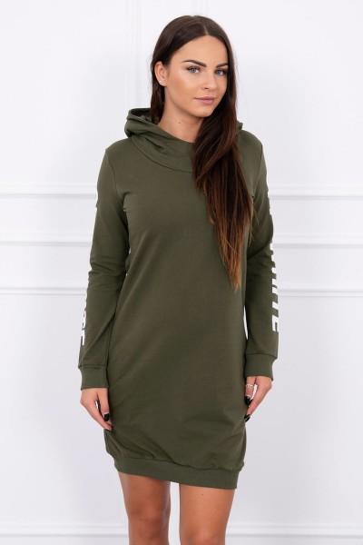 Suknelė su užrašu (Khaki)