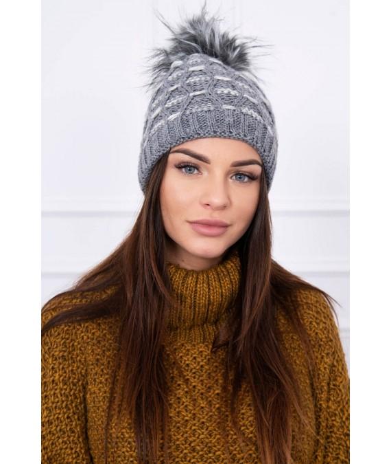 Kepurė K86 (Pilka)