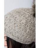 Kepurė K87 (Tamsi) (Smėlio spalva)