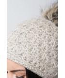 Kepurė K87 (Šviesi) (Smėlio spalva)