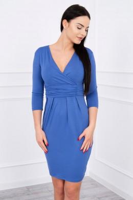 Aptempta suknelė (Mėlyna)