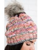 Kepurė K106 (Rožinė) (Švelnios spalvos)