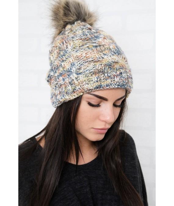 Kepurė K106 (Geltona)+(Mėlyna)