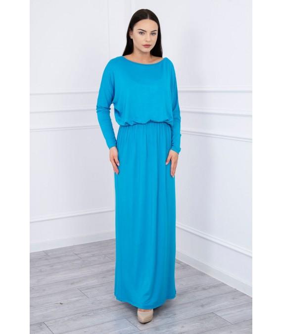 Vakarinė suknelė (Turkio spalva)