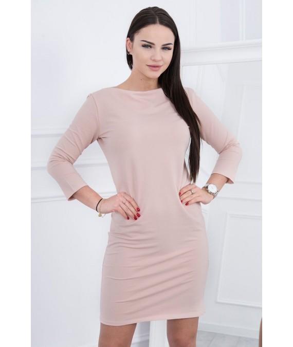 Klasikinė suknelė (Šviesiai) (Smėlio spalva)