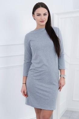 Klasikinė suknelė (Pilka) (Švelnios spalvos)
