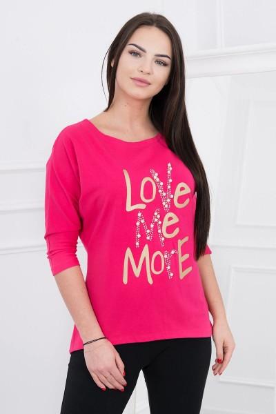 Palaidinė Love me more (Fuksijos)
