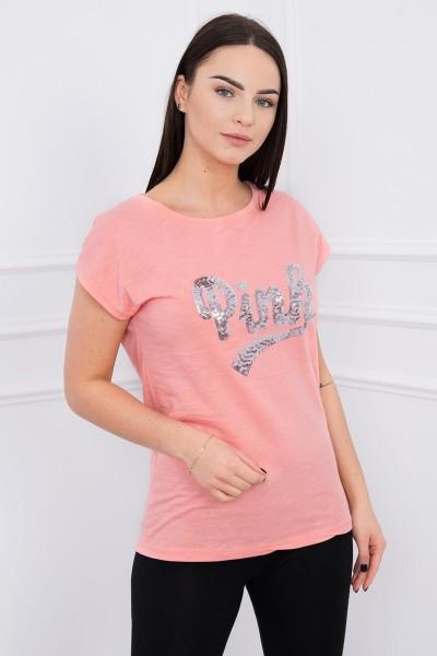 Palaidinė Pink (Abrikoso spalva)