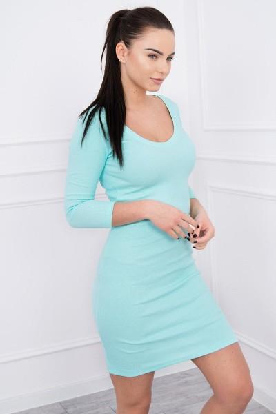 Aptempta suknelė su iškirpte (Mėtos)
