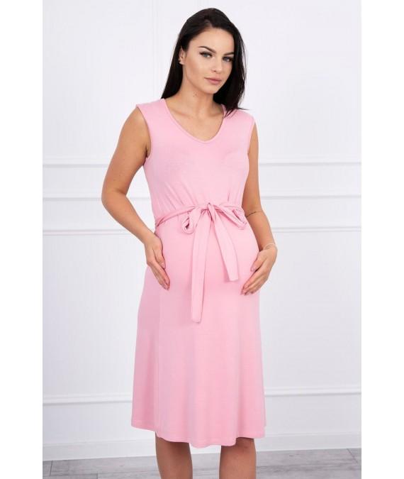 Suknelė su patogiomis petnešomis (Šviesiai) (Rožinė)