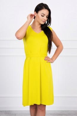 Suknelė su patogiomis petnešomis (Kivio spalva)