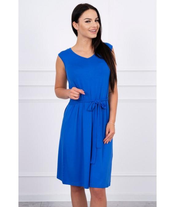 Suknelė su patogiomis petnešomis (Mėlyna)