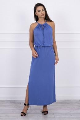 Boho suknele su petnešėlėmis (Mėlyna)