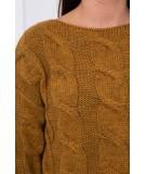 Megztinis su ilgesne nugara (Moro)