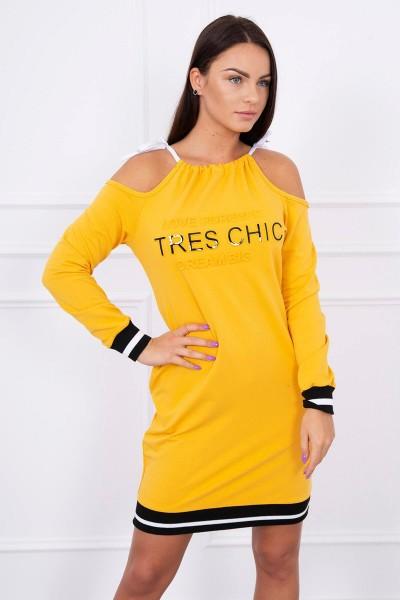 Suknelė su užrašu Tres Chic (Garstyčių)