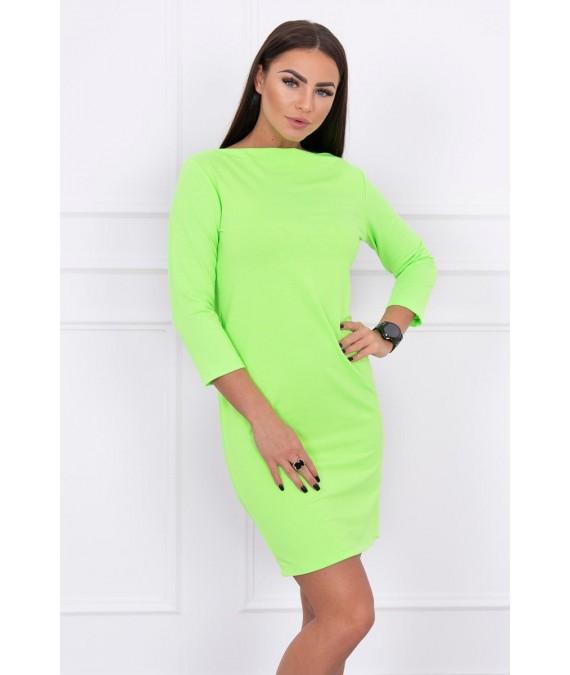 Klasikinė suknelė (Žalia) (Neoninė)