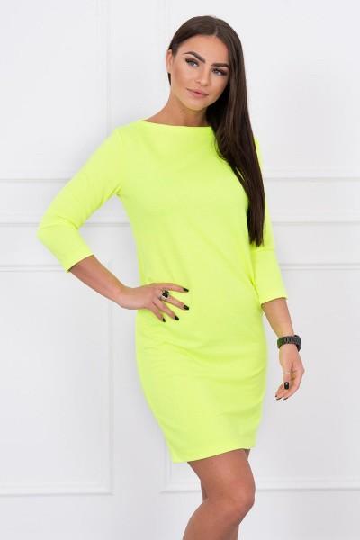 Klasikinė suknelė (Geltona) (Neoninė)