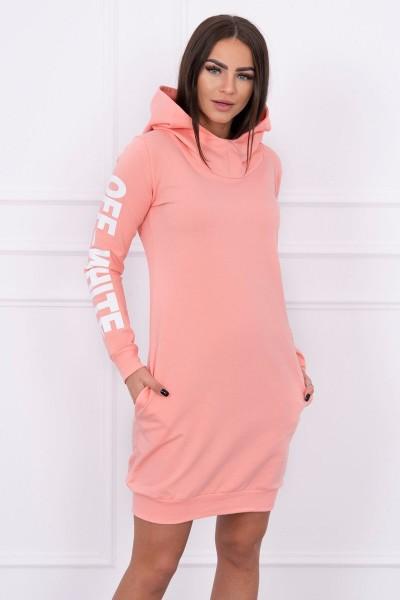 Suknelė su užrašu (Abrikoso spalvos)
