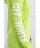 Suknelė su užrašu (Žalia)