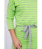 Suknelė su užtraukiamom juostelėm (Žalia) (Neoninė)