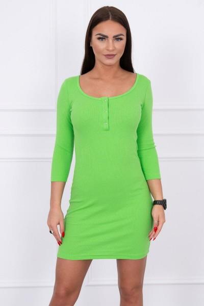Suknelė su iškirpte (Žalia)