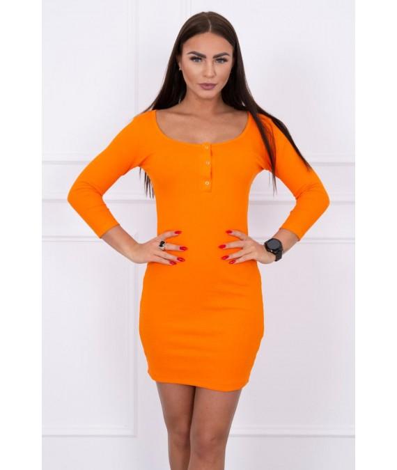 Suknelė su iškirpte (Oranžinė)