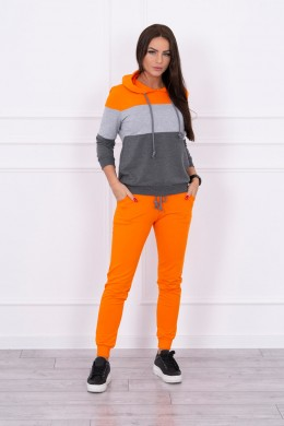 Patogus ir lengvas kostiumėlis (Oranžinė)+(Pilka)