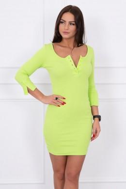 Suknelė su iškirpte ir su sagutėm (Kivio spalva)