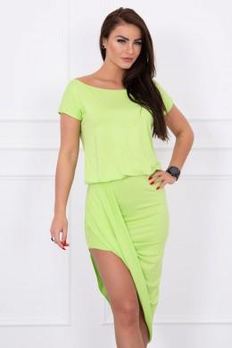 Asimetriška suknelė (Žalia)