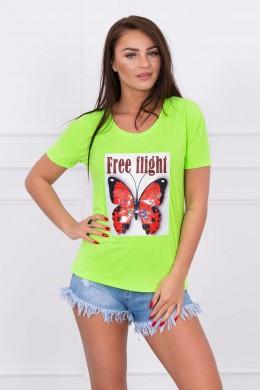 Palaidinė Free Flight (Žalia) (Neoninė)