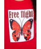 Palaidinė Free Flight (Raudona)
