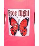 Palaidinė Free Flight (Rožinė) (Neoninė)