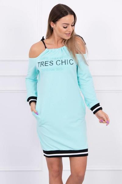 Suknelė Tres Chic (Mėtos)