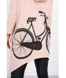 Megztukas Bike (Šviesiai) (Rožinė)