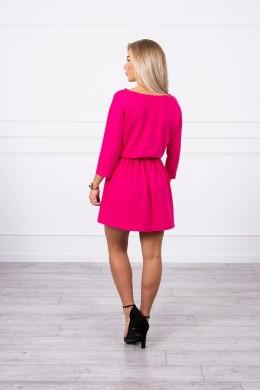 Suknelė su blizgančia kišene (Fuksijos)