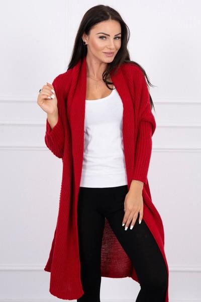 Megztinis ir su ilgom rankovėm (Raudona)