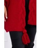 Megztinis su bumbulu (Raudona)