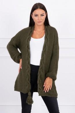 Megztinis su bumbulu (Khaki)