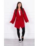 Megztinis su kišenėm (Raudona)