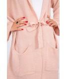Megztinis su kišenėm (Šviesiai) (Rožinė)