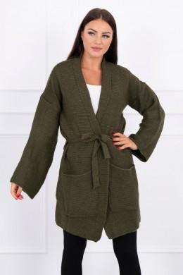 Megztinis su kišenėm (Khaki)