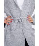 Megztinis su kišenėm (Pilka)