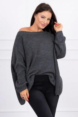Megztinis Oversize (Grafito)