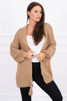 Megztinis su bumbulu (Šviesiai ruda)
