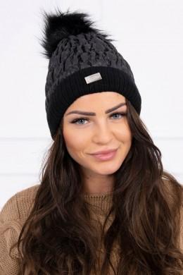Kepurė K160 (Juoda)