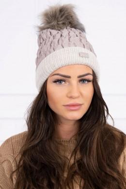 Kepurė K160 (Smėlio spalva)