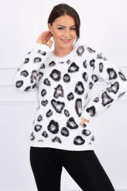 Hair sweater leopard (Balta)