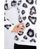 Hair sweater leopard (Balta)