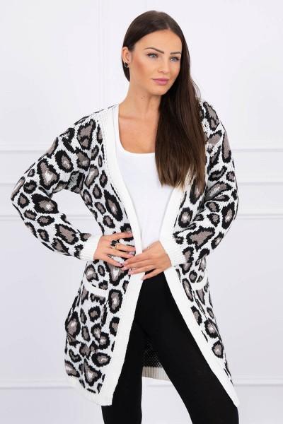 Leopard sweater (Šilko spalva)