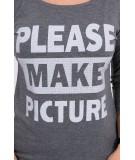 Palaidinė Take a picture of me, (Grafito)